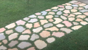 how to patio pavers install
